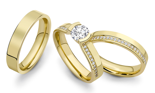 E H Warford Wedding Ring Styles
